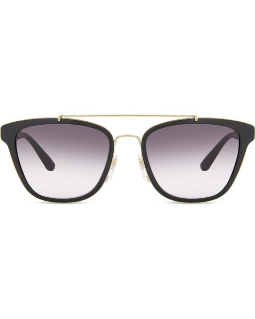 Burberry | Black Be4240 Square-frame Sunglasses | Lyst