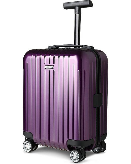 Rimowa | Purple Salsa Air Four-wheel Mini Suitcase 43cm for Men | Lyst
