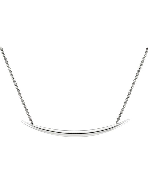 Shaun Leane | Metallic Quill Silver Vermeil Necklace | Lyst