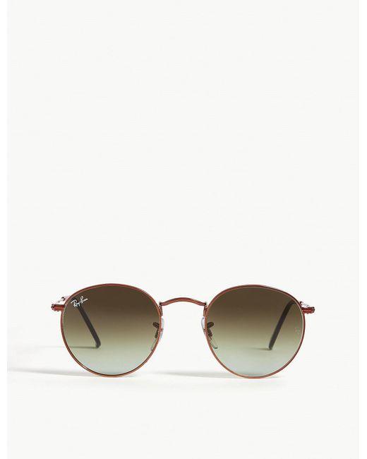 Ray-Ban - Metallic Rb3447 Phantos-frame Sunglasses for Men - Lyst