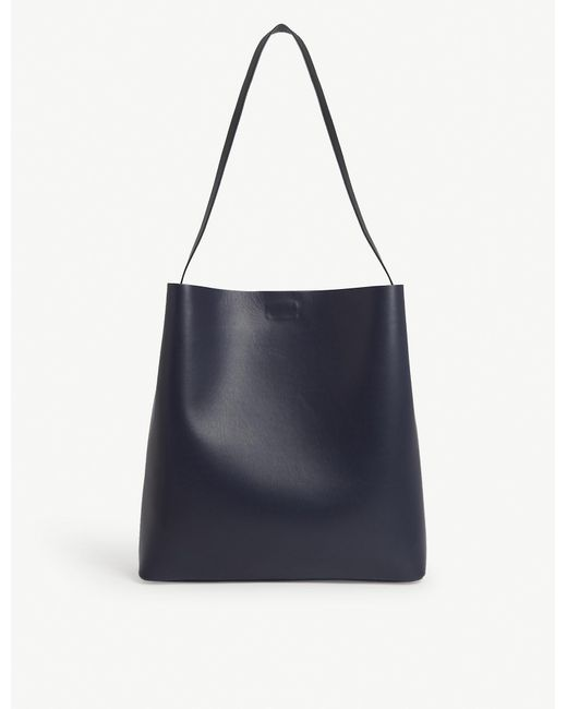 Aesther Ekme Blue Sac Leather Tote
