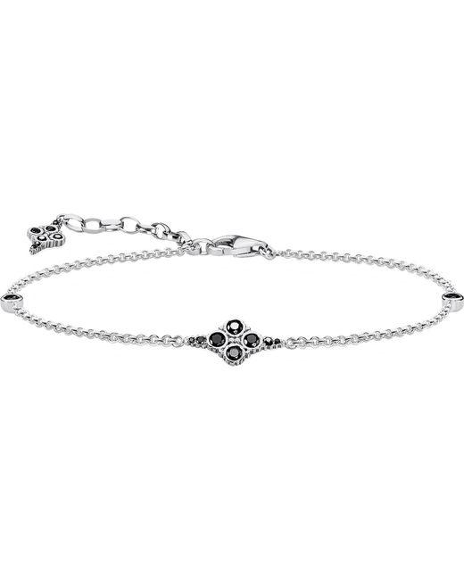 Thomas Sabo - Royal Black Sterling Silver Bracelet - Lyst