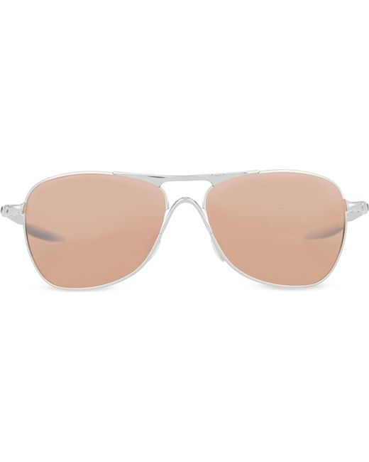 Oakley - Gray Oo4060 Chrome Square Sunglasses - For Men - Lyst