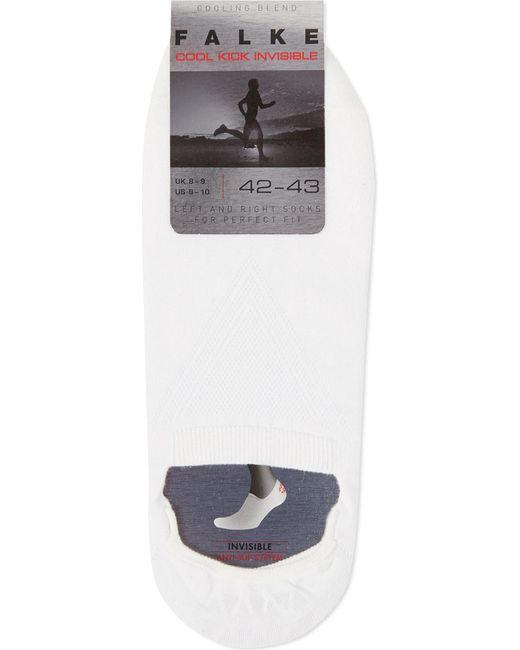 Falke | White Cool Kick Invisible Socks for Men | Lyst