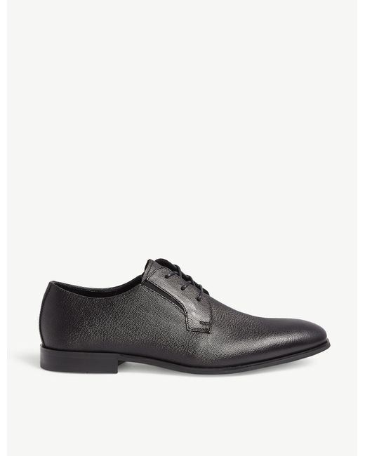 ALDO Black Maqitreni Leather Derby Shoes for men