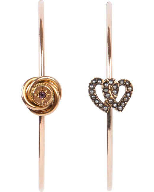 Annina Vogel   Metallic 9 Carat Gold   Lyst