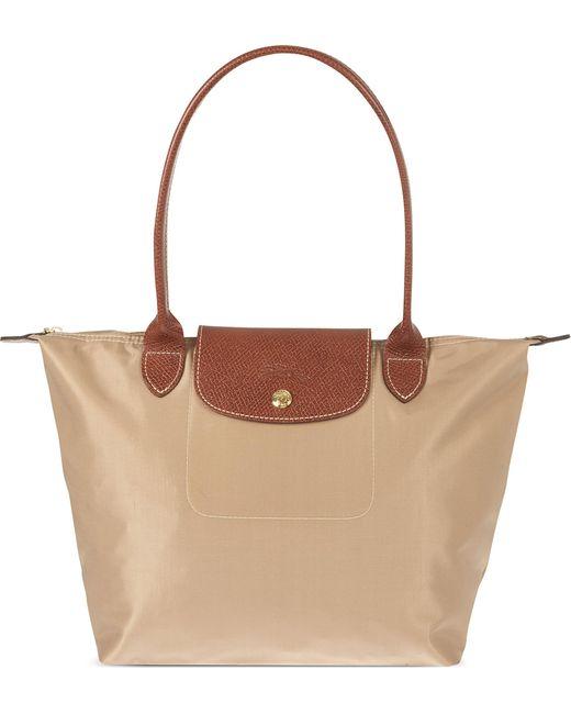 Longchamp - Brown Le Pliage Small Shopper - Lyst