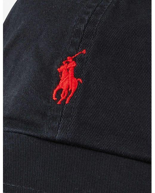 Polo Ralph Lauren White Logo Baseball Cap for men