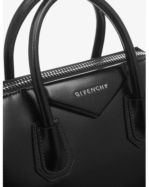 Givenchy Red Women's Black Antigona Leather Tote