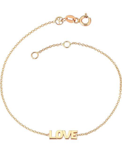 The Alkemistry | Metallic Love 14ct Rose-gold Bracelet | Lyst
