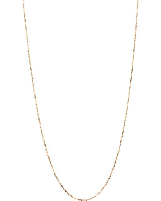 Links of London   Metallic Yellow-gold Vermeil Diamond-cut Chain   Lyst