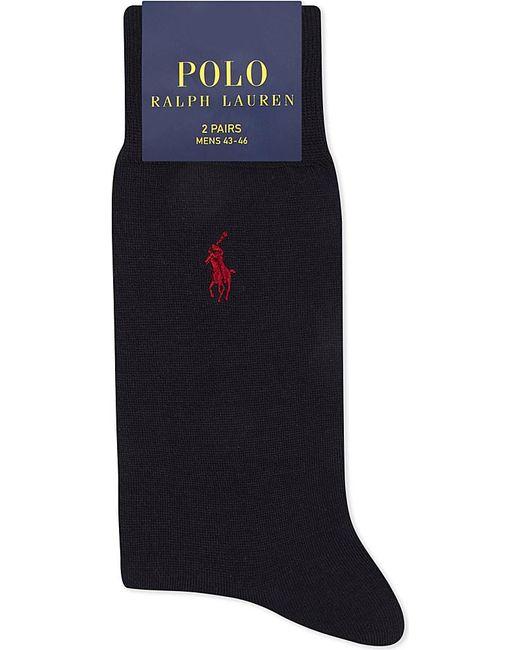 Polo Ralph Lauren | Blue Logo Merino Wool Socks for Men | Lyst