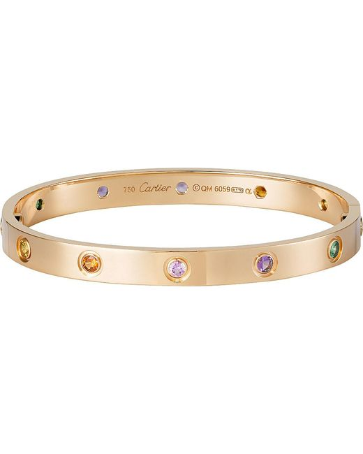 Cartier | Purple Love 18ct Pink-gold | Lyst