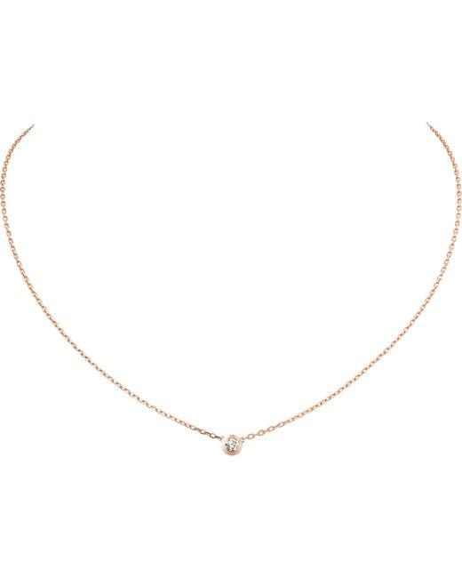 Cartier   Metallic Diamants Légers De 18ct Gold And Diamond Necklace   Lyst