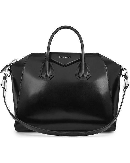 Givenchy | Black Antigona Medium Leather Tote | Lyst
