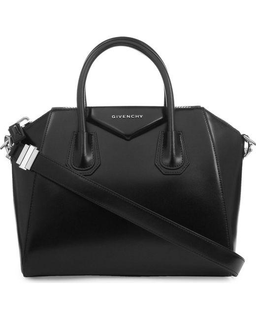 Givenchy   Black Antigona Small Leather Tote   Lyst