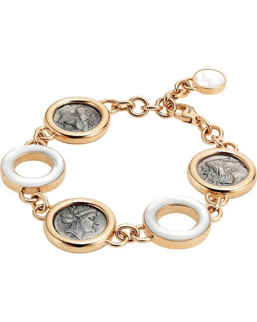 BVLGARI | Metallic Monete 18kt Pink-gold Bracelet | Lyst