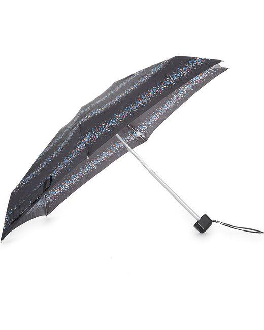 Fulton   Multicolor Ladies Black Printed Ultra Light Star Print Umbrella   Lyst