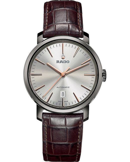 Rado | Metallic R14074106 Diamaster Plasma High-tech Ceramic Watch | Lyst