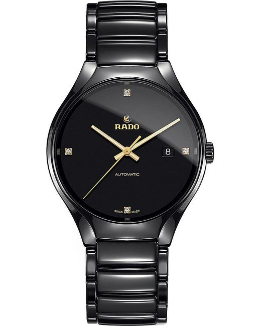 Rado | Multicolor R27056712 True Ceramic And Diamond Watch | Lyst