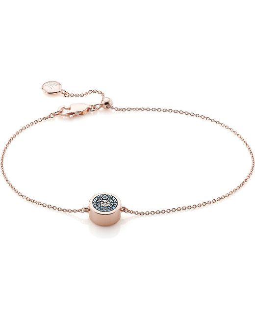 Monica Vinader   Metallic 'skinny' Diamond Bracelet   Lyst