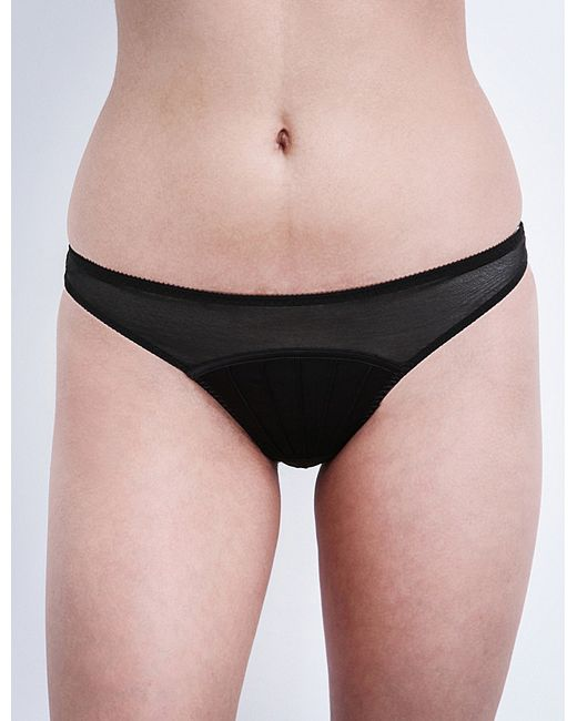 Stella McCartney | Black Cherie Sneezing Thong | Lyst