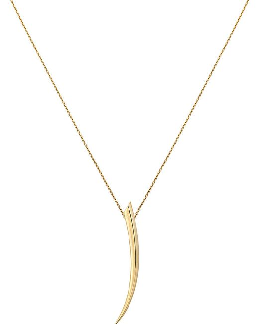 Shaun Leane | Sabre 18ct Yellow-gold Pendant | Lyst