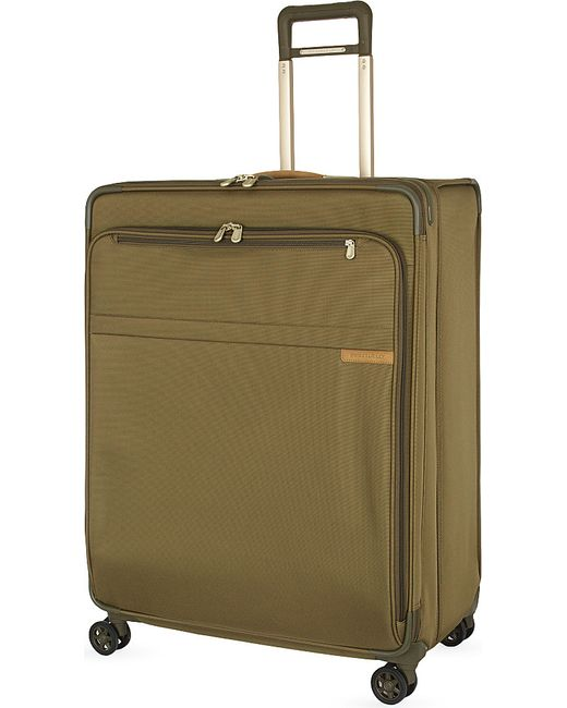 Briggs & Riley | Green Extra Large Expandable Spinner Suitcase Trolley for Men | Lyst