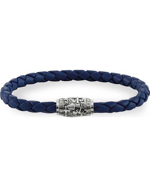 Thomas Sabo | Blue Rebel At Heart Leather Unity Bracelet | Lyst