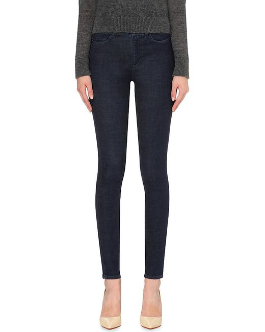 MiH Jeans | Blue The Bodycon Skinny High-rise Jeans | Lyst