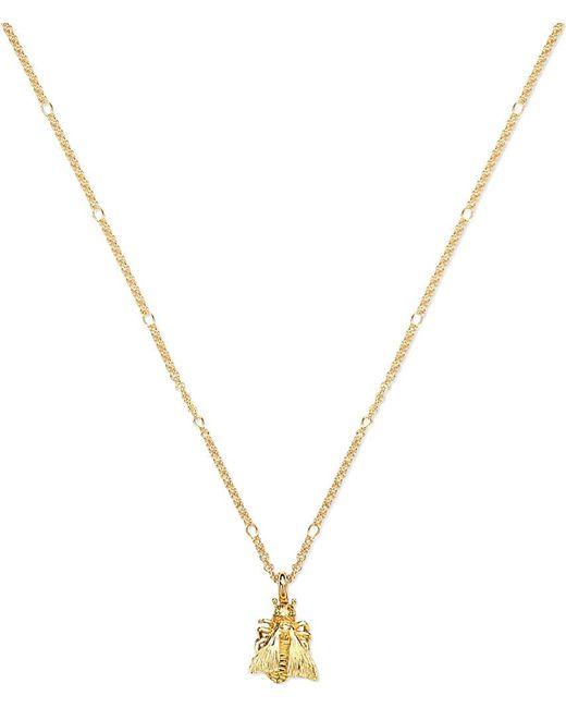 Gucci | Metallic Le Marché Des Merveille 18ct Gold Necklace | Lyst