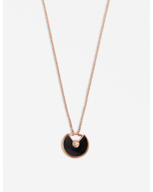 Cartier - Multicolor Amulette De 18ct Pink-gold for Men - Lyst