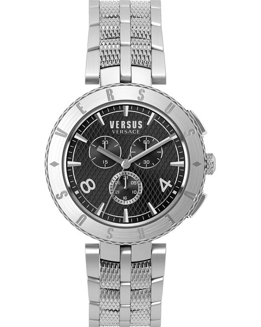 Versus  - Metallic S76140017 Logo Chrono Stainless Steel Watch for Men - Lyst