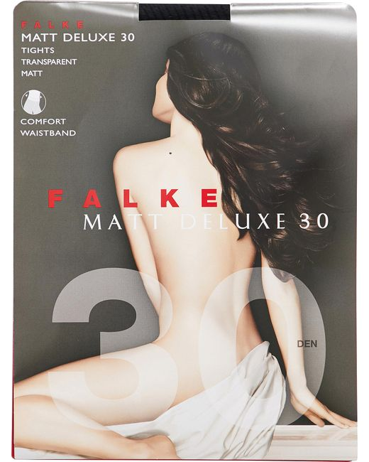 Falke - Black Matt Deluxe 30 Tights - Lyst