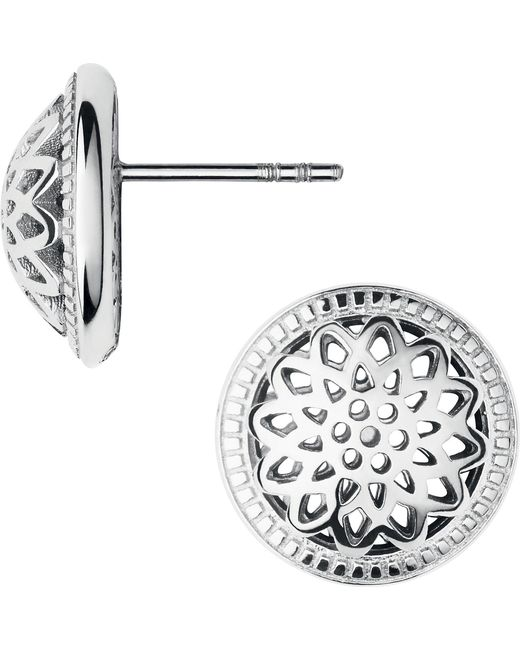 Links of London | Metallic Timeless Sterling Silver Domed Stud Earrings | Lyst