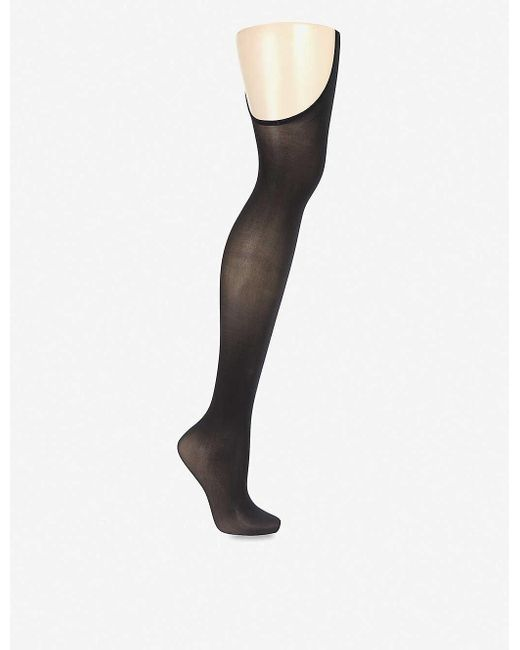 Wolford Women's Black Individual 12 Stay-hip Tights
