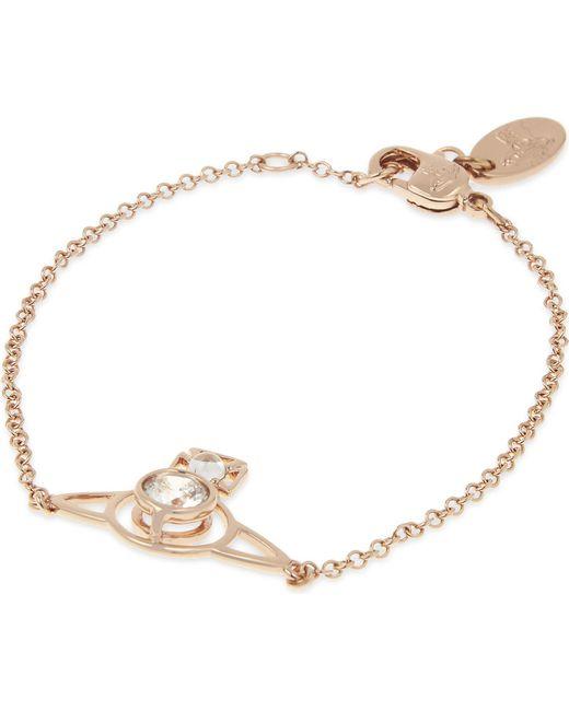 Vivienne Westwood - Metallic Nora Saturn Orb Bracelet - Lyst