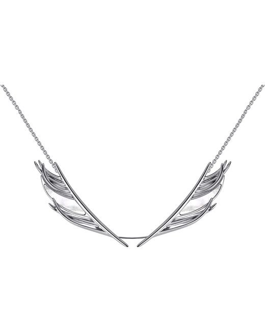 Shaun Leane | White Feather Silver And Mother-of-pearl Necklace | Lyst