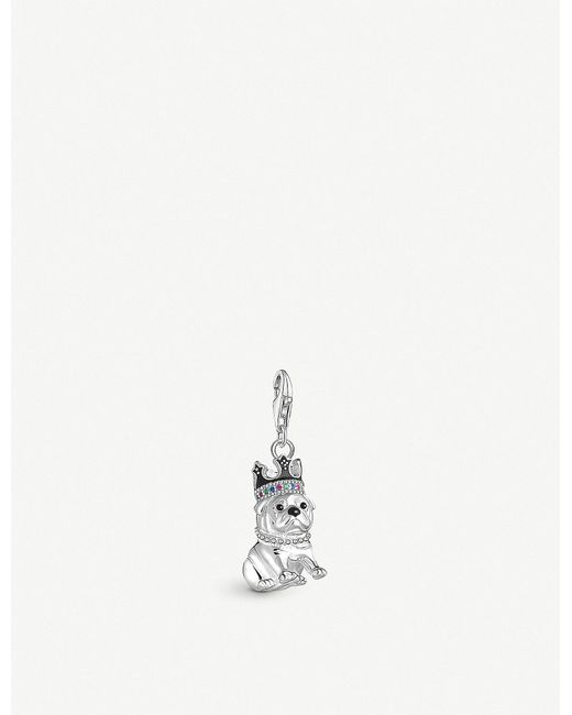 Thomas Sabo - Metallic Chinese New Year Sterling Silver Dog With Crown Charm - Lyst