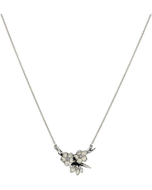 Shaun Leane | Metallic Cherry Blossom Silver | Lyst