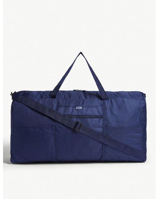 Samsonite Blue Xl Foldable Duffle Bag for men