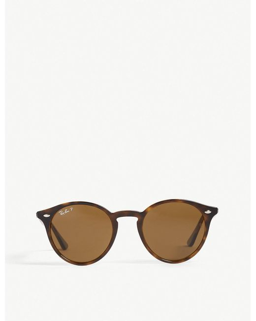 Ray-Ban - Brown Rb2180 Phantos-frame Sunglasses - Lyst