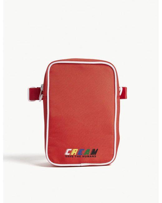 Mini Cream - Red Printed Cross-body Bag for Men - Lyst