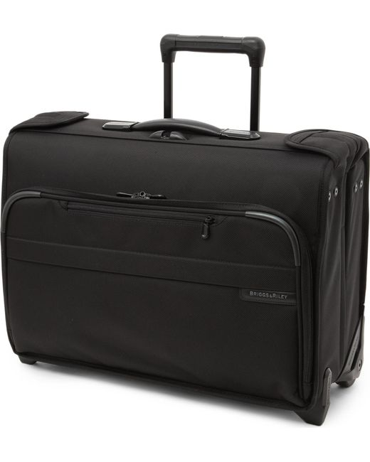 Briggs & Riley - Black Baseline Carry-on Suitcase for Men - Lyst