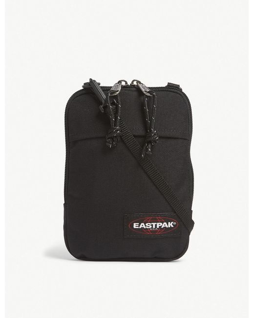 Eastpak - Black Woven Authentic Buddy Canvas Cross Body Pouch for Men - Lyst