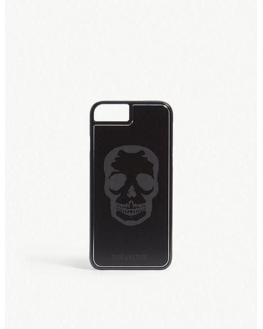 Zadig & Voltaire - Black Skull Iphone 6/7 Case - Lyst