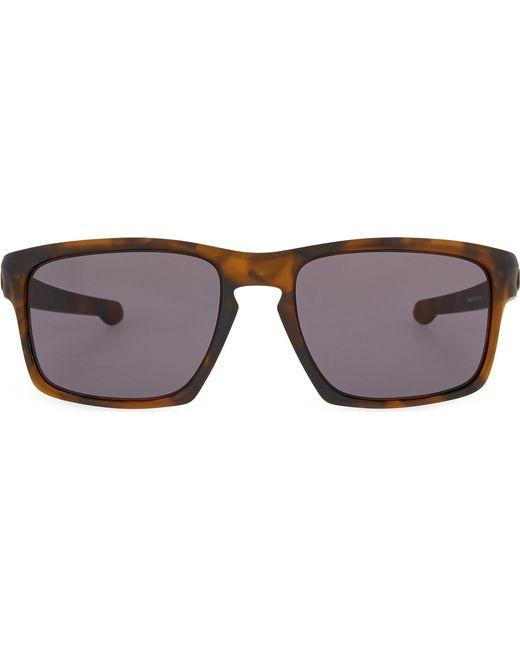Oakley | Black Havana Rectangle Sunglasses for Men | Lyst