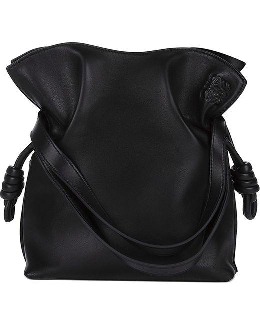 Loewe - Black 'small Flamenco Knot' Shoulder Bag - Lyst