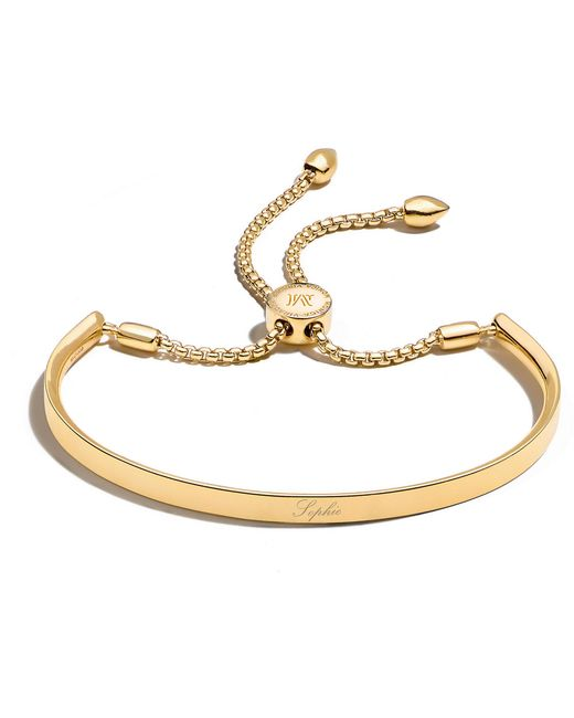 Monica Vinader Metallic Linear Chain Bracelet