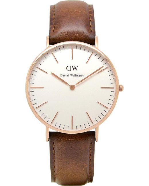 Daniel Wellington Metallic 0106dw Classic St Andrews Watch for men